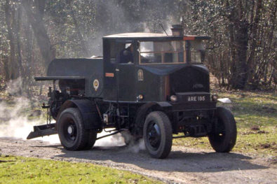 1934 Sentinel timber tractor