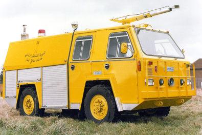 The 1970s Chubb Pursuer crash tender