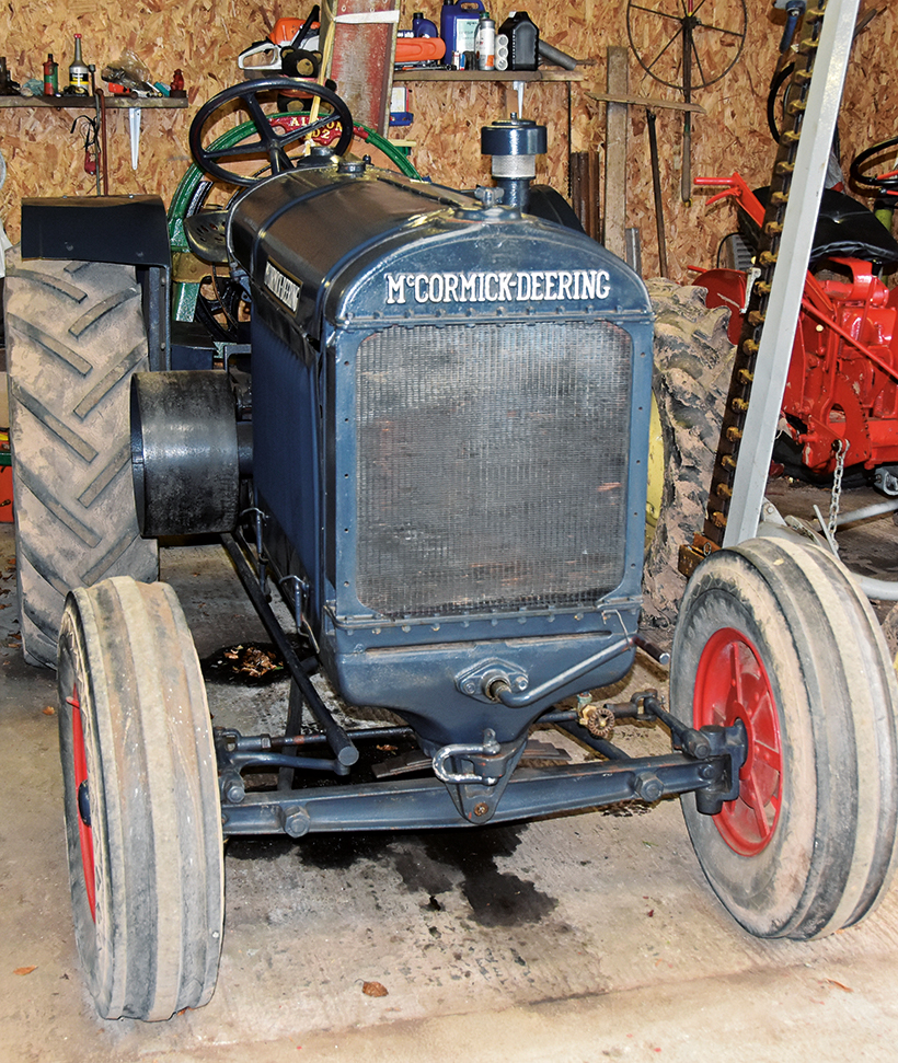 McCormick-Deering and Farmall tractors