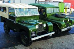 Series I Land Rover vs Austin Gipsy