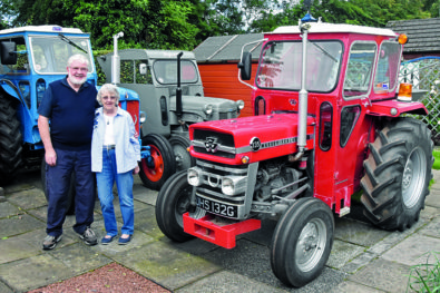A classic tractor collection