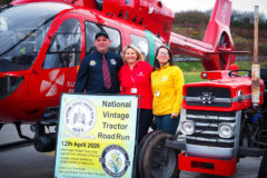 National Vintage Tractor Road Run