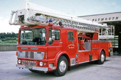 Post-war fire engines