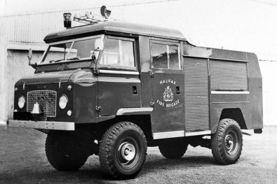Land Rover-based fire appliances