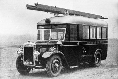 The first all-weather fire engines