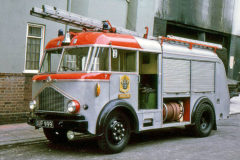 Silver fire engines