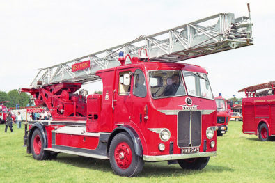 The history of turntable ladders
