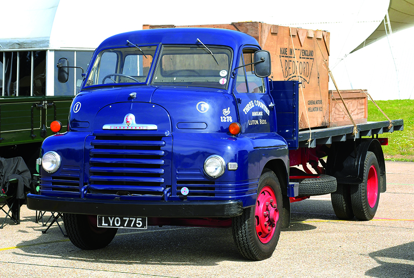 Bedford commercial vehicle enthusiasts