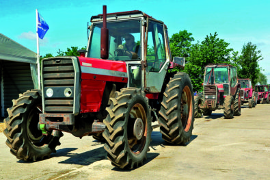 Tractor sales are booming!
