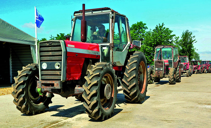 Tractor sales are booming