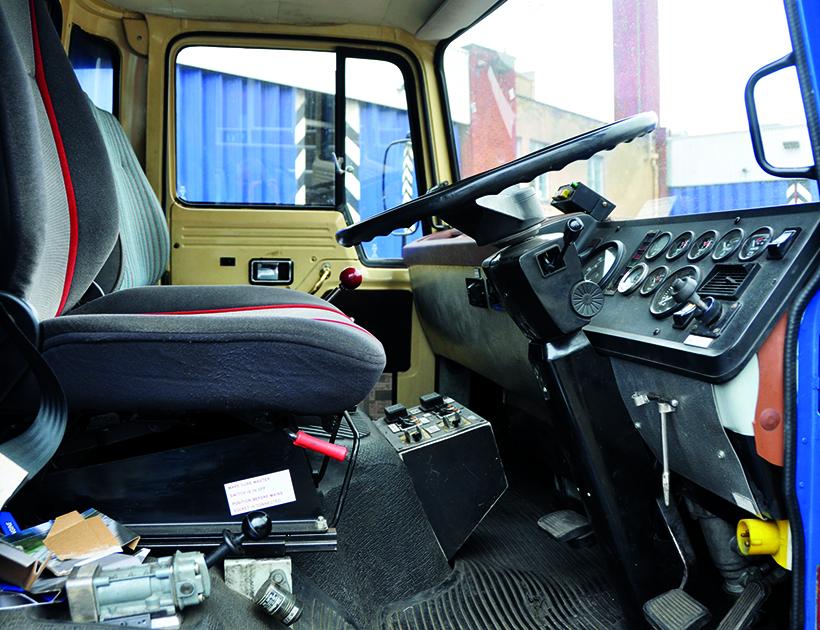 Dodge damage control vehicle
