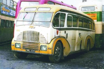 Breaker's yard buses