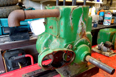 Ruston & Hornsby PT engine rebuild