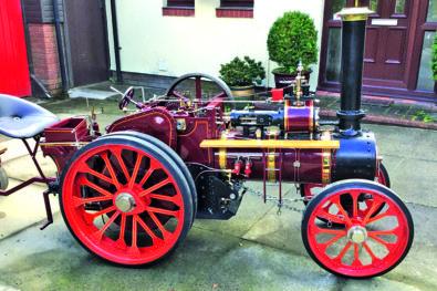 Dodman miniature traction engine