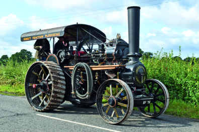 Fowler 6nhp traction engine finds new home