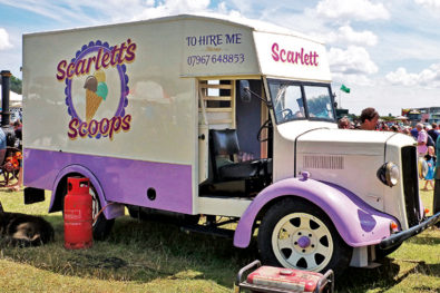 Classic mobile catering vehicles