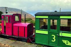 Narrow-gauge diesel loco sends message
