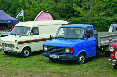 Commercials on show at Gaydon