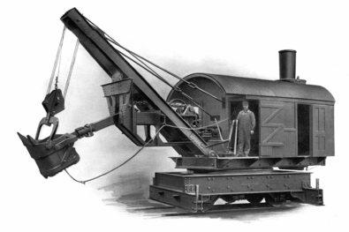 More steam shovel history