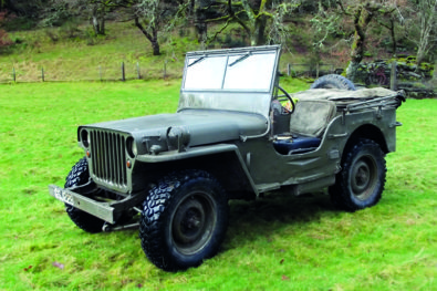 The wartime Willys Jeep