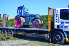 Aveling Barford GRT road roller