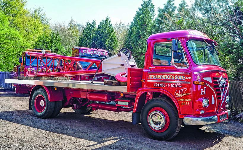 Classic heavy-haulage trucks