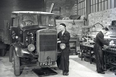 Historic commercial workshop scenes