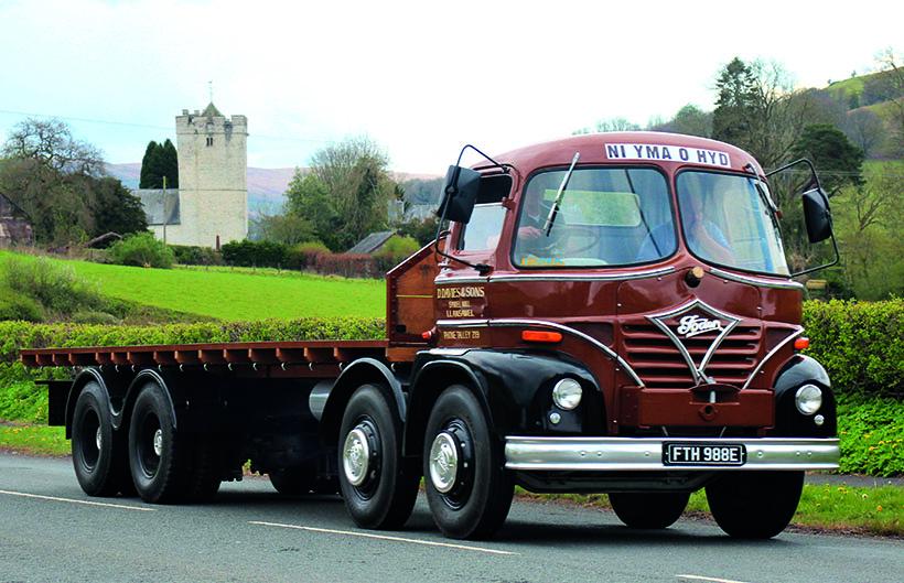 Classic lorry road run