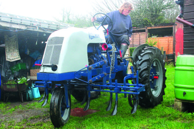 Rare Newman WD2 trike restoration