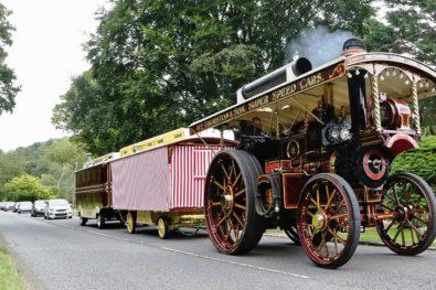 70-foot showman's road train!
