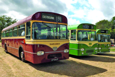 Buses descended on Tinkers Park