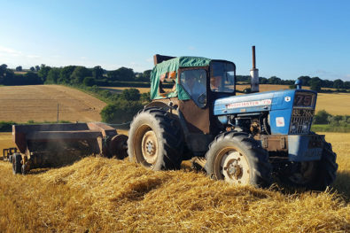The Roadless tractor attraction