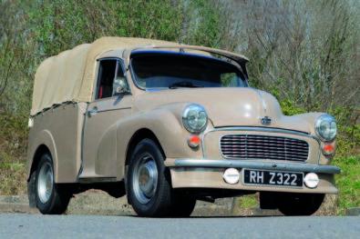 Austin Minor Pick-up restoration