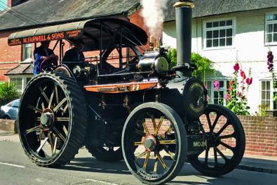 Steam-up in Dorset!