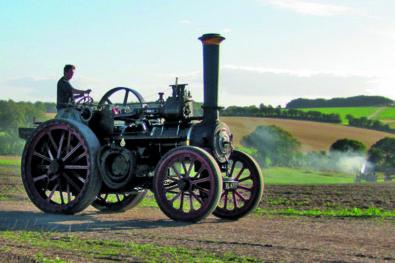Stourpaine steam gathering