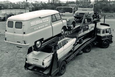 Evolution of car transporters