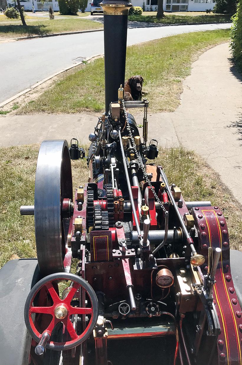 Dodman traction engine