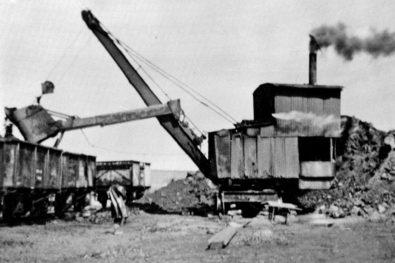 Ruston steam shovels