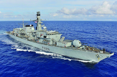 Operational challenges for the Royal Navy