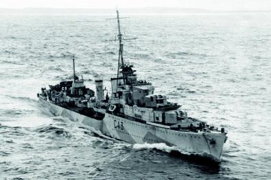 WW2's Tribal class destroyers
