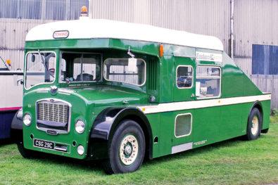 Bus company breakdown trucks