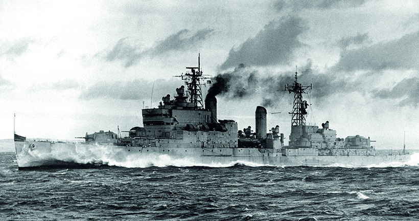 Tiger class light cruisers