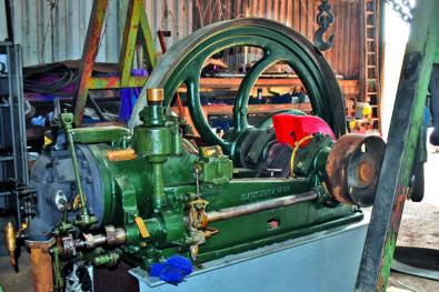 Blackstone stationary engine turning again