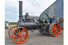 1873 Fowler 12hp in steam again!