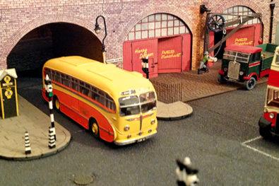Classic vehicle dioramas