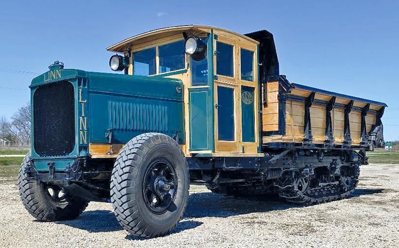Fascinating tractors and trucks