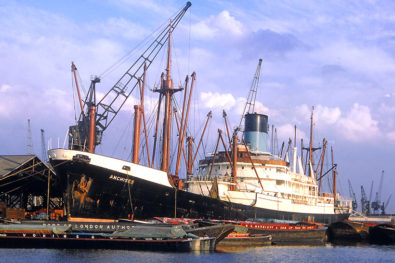 The classic freighters era