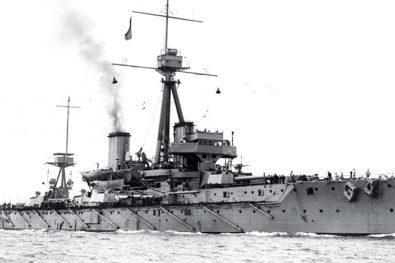 Famous Royal Navy battleship