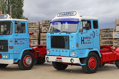 ERF and Volvo trucks restored