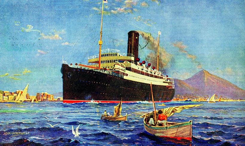 British Atlantic intermediate liner Cameronia